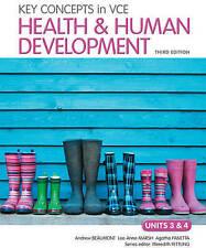 Health Education Paperback Textbooks 3 Units