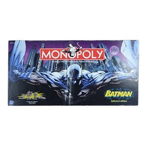2005 BATMAN Collector's Edition Monopoly Game 99% Complete