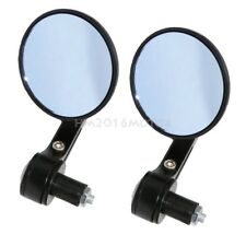 """Motorcycle 7/8"""" Handle Bar End Review Mirrors For Honda CBR 125R 250R 300R 500R"""