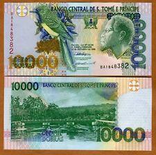 St Thomas & Prince, 10000 (10,000) Dobras, 1996, P-66b UNC