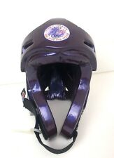 Pro Force Thunder Helmet Only Martial Arts Karate Taekwondo Youth Large Purple