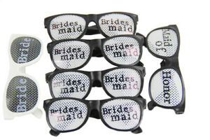 Case of 12 (6 Packs) Bridal Bridesmaids - Wedding Party Favors - DJ Photo Booth