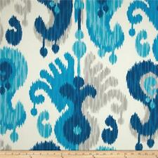"""Indoor/Outdoor Sea Glass 100% Polyester Fabric By The Yard 54"""" W By P Kaufmann"""