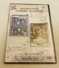 NEW WWE Tagged Classics Survivor Series 2001 & Vengeance 2001 DVD WWF VERY RARE