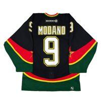 Vtg Dallas Stars 3rd Alt Mooterus #9 Modano Authentic On Ice Koho Jersey Sz 46