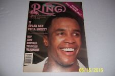 1986 THE Ring SUGAR RAY LEONARD Is Sugar Still Sweet NO LABEL Hall Of Fame Issue