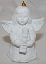 2016 Goebel Annual Angel Bell - White Bisque - 41st Edition - 40th Anniversary