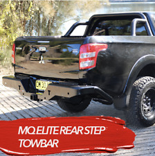 MQ TRITON ROCKARMOR ELITE REAR STEP TOW BAR SIDE AIRBAG COMPATIBLE