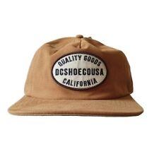 DC Shoe Co USA Brown Snapback Cap/Hat One Size Adjustable BNWT Trucker Skater