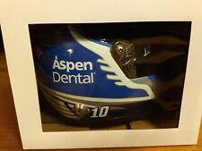 Danica Patrick #10 Aspen Dental Tooth Fairy 2017  mini size collectible helmet