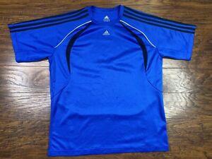 adidas climacool Shirt Large Blue Z1