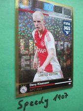 Panini Adrenalyn FIFA 365 Limited Edition Klaassen Ajax Limitiert Trading