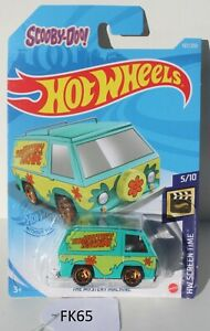Hot wheels Screen Time Scooby-Doo Mystery Machine 5/10 Green FNQHotwheels FK65