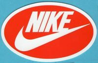 3 Nike Vinyl Stickers,Red/White