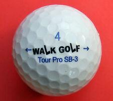 Pelota de golf con logo-Walk golf-logotipo Ball/logo balones como amuleto de regalo