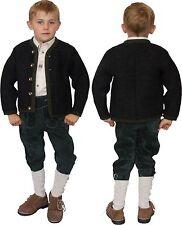 Strickjacke Jacke Kinder mit Wolle    Trachten St. Peter Trachten anthra