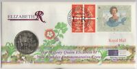 1996 Queen Elizabeth II 70th Birthday Crown FDC | Pennies2Pounds