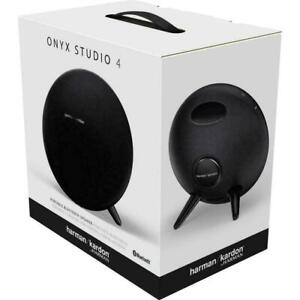 Harman Kardon Onyx Studio 4 Portable Bluetooth Speaker - Black  (HKOS4BLKAM)
