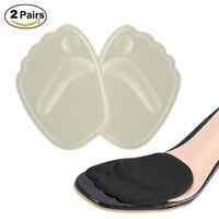 2 Pairs Anti-slip Gel Metatarsal Foot Pads Thick Ball of Foot Cushions