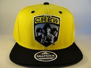 Columbus Crew SC Adidas MLS Snapback Hat Cap Yellow Black