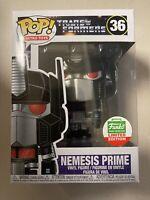 Mint! Funko POP! Retro Toys Nemesis Prime Funko Shop 36 In Hand