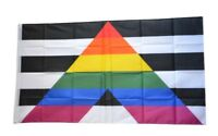 Fahne Straight Ally - gleiche Rechte Flagge LGBT Hissflagge 90x150cm