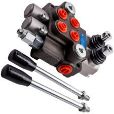 New 2 Spool 11 Gpm Hydraulic Directional Control Valve Tractor Loader Joystick