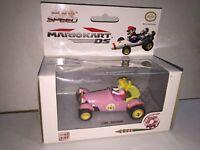 Nintendo DS Super Mario 1:43 Mariokart Pull Speed PEACH ROYALE Car cod.17303 MIB
