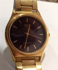 'Classic' Gold-Tone Stainless Steel Watch Casio Men's MTP1130N-1A