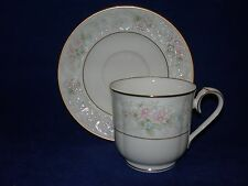Noritake Bone China Willowbrook Cup and Saucer/s  9722  Japan
