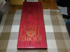 """Dynasty Doll Collection """"Noel"""" Christmas 1988 #1417 of 3500 15"""" W/Stand"""