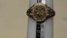 Vintage Loyal Order of Moose Men's Ring 11 1/2