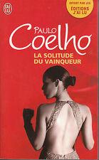 Livre Poche la solitude du vainqueur Paulo Coelho roman  j'ai lu 2010  book