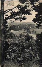 Thalbürgel Thüringen 1916 Partie Blick von Alexander Höhe Panorama Gesamtansicht
