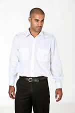 Mens CKL Pilot Shirt  (Long sleeved) - Office, Corporate, Uniform , Workwear