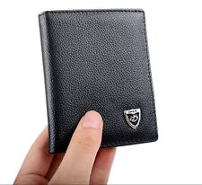 Stylish Men's Leather Slim Purse Bifold ID Card Holder Mini Wallet Hot New