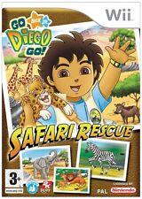 Go, Diego, Go! Safari Rescue Nintendo Wii PAL Brand New
