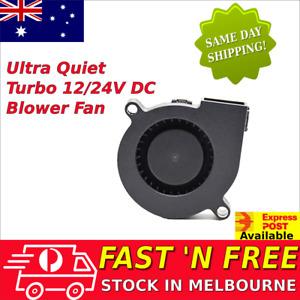 12V 24V Brushless DC Blower Fan Ultra Quiet Cooling Fan 5015S 50mm x 15mm