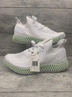 Adidas Alphaedge 4D Cloud Mens Size 11 White Carbon EF3454 Primeknit