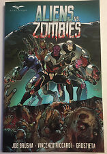 Aliens vs Zombies TPB Zenescope Tp Sc Nm New Grimm Fairy Tales Wonderland