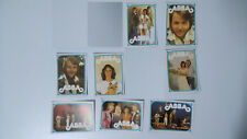 ABBA trading cards SMALL MINI cards vintage set 2
