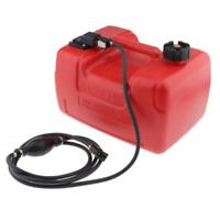 12L Portable Fuel Tank 3.2 Gallon For Yamaha Outboard Engine with Connector