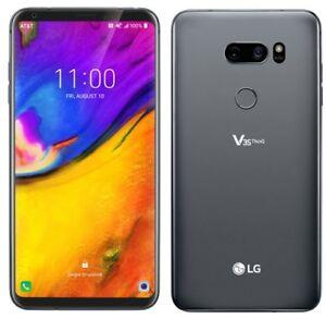 LG V35 ThinQ LM V350A Mobile GSM Factory Unlocked 64GB Smartphone - Very Good