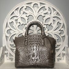 Brahmin Duxbury Satchel Moonscape Melbourne Leather