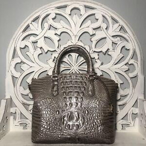 Brahmin Duxbury Satchel Moonscape Melbourne Leather