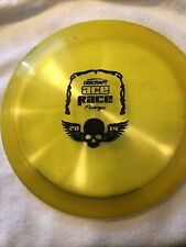 Discraft Ace Race Protype Yellow And Black Ink On Back. Now Weight On Disc