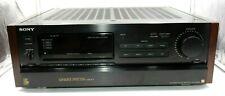 VINTAGE WOODGRAIN SONY STR-GX90ES AM-FM STEREO RECEIVER 120 WATTS/CHANNEL RMS