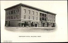 Billings MT Northern Hotel c1910 Postcard rpx
