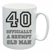 40th Novelty Birthday Gift Present Tea Mug Grumpy Old Git 40 Year Old Coffee Cup