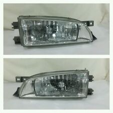 Oem Genuine Subaru Impreza Wrx Gc8 Gf8 Facelift Kouki Crystal Head Lamps Lights